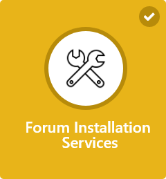 Forums Installation and Setup