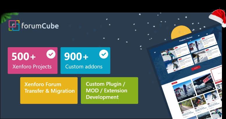 ForumCube Custom Xenforo Services
