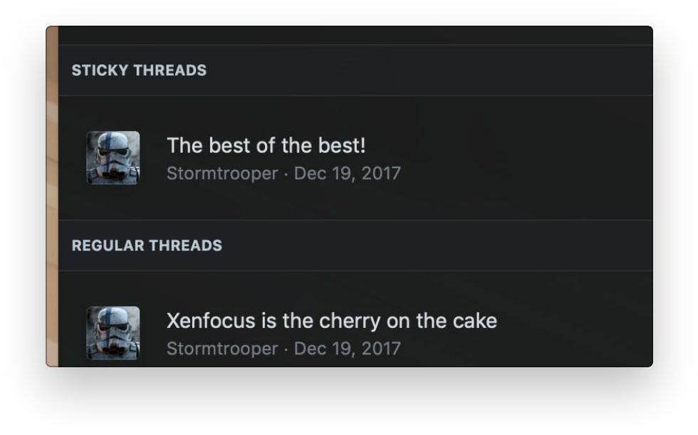 XenFocus xenforo theme