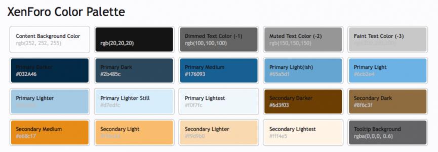 XenForo Colour Palette.png