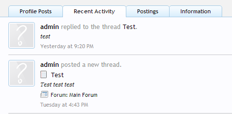 Recent activity - remove avatars - text align left.png