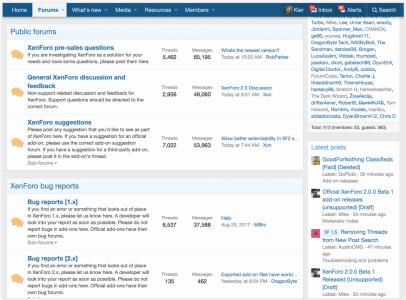 What's new in XenForo 2.0 | xenforo 2.0 có gì mới