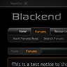 Blackend - PixelExit.com