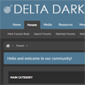 Delta Dark - ThemesCorp.com