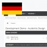 German translation for [AD] UI.X by Audentio