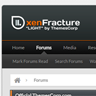 xenFracture Light - ThemesCorp.com