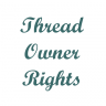 Thread Owner Rights