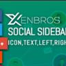 Social Share Sidebar by xenbros