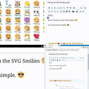 SVG Smilies