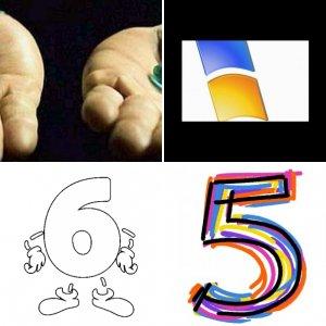 1, 2, 3...