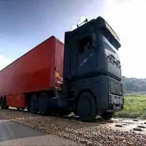 Top Gear - Lorry challenge funny moment