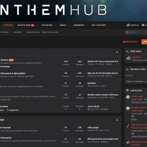 Anthem Hub | UI.X