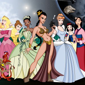 Disney Princesses 2012