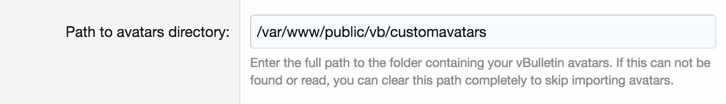Introducir la ruta completa a avatares, adjuntos etc.